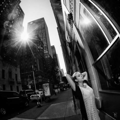 Servizio fotografico a New york