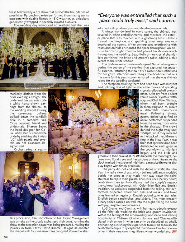 Flavio Bandiera Sophisticated Weddings New York