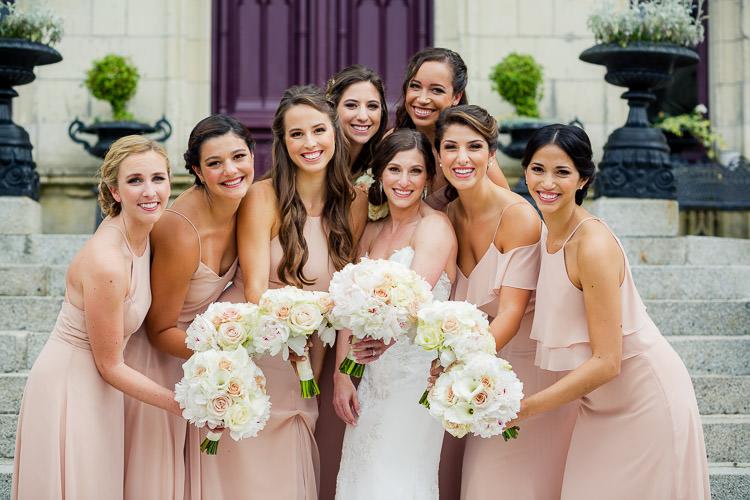 Chateau Challain bridesmaids - KR