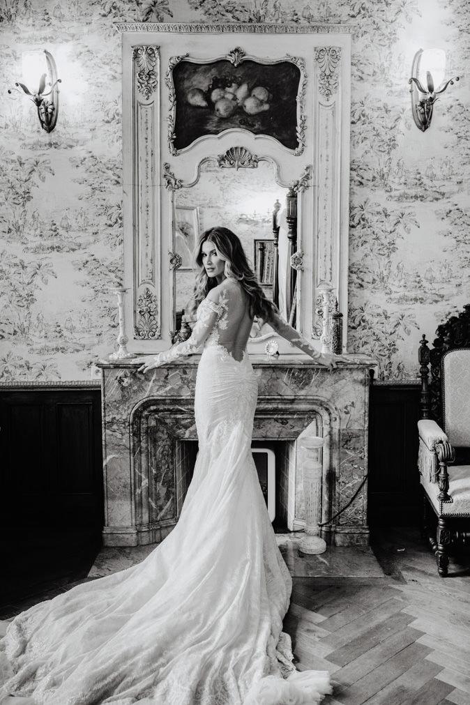 bride galia lahav wedding dress flavio bandiera