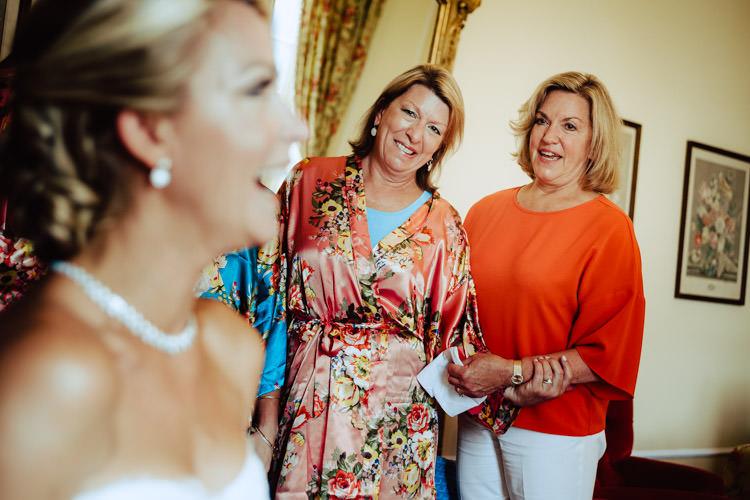 bride mum and mother in law wedding villa d'este