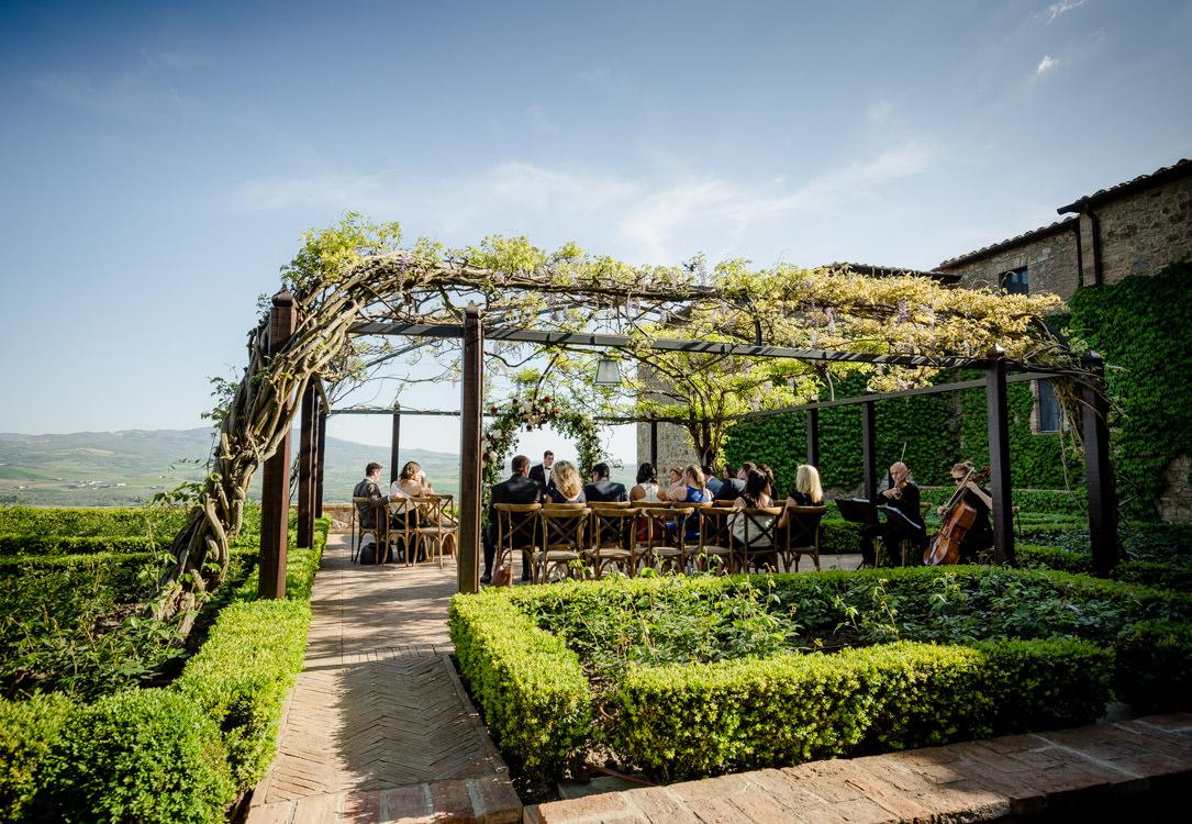 wedding area castello di montalcino tuscany