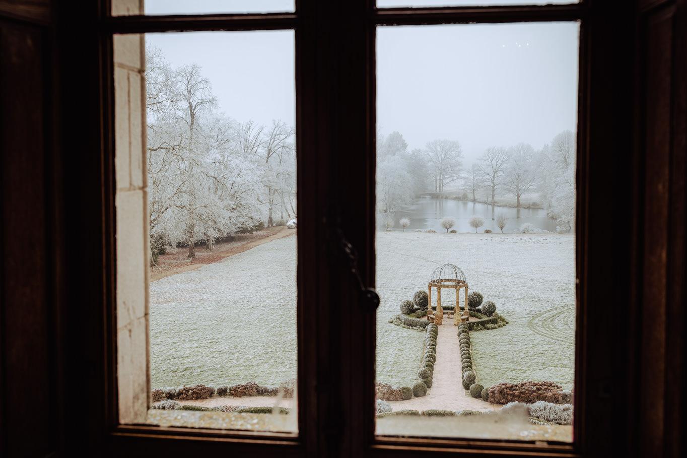 chateau challain frozen wedding