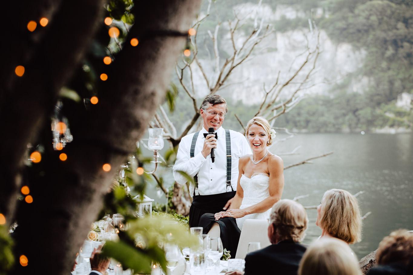 groom speach wedding dinner villa regina teodolinda lake como