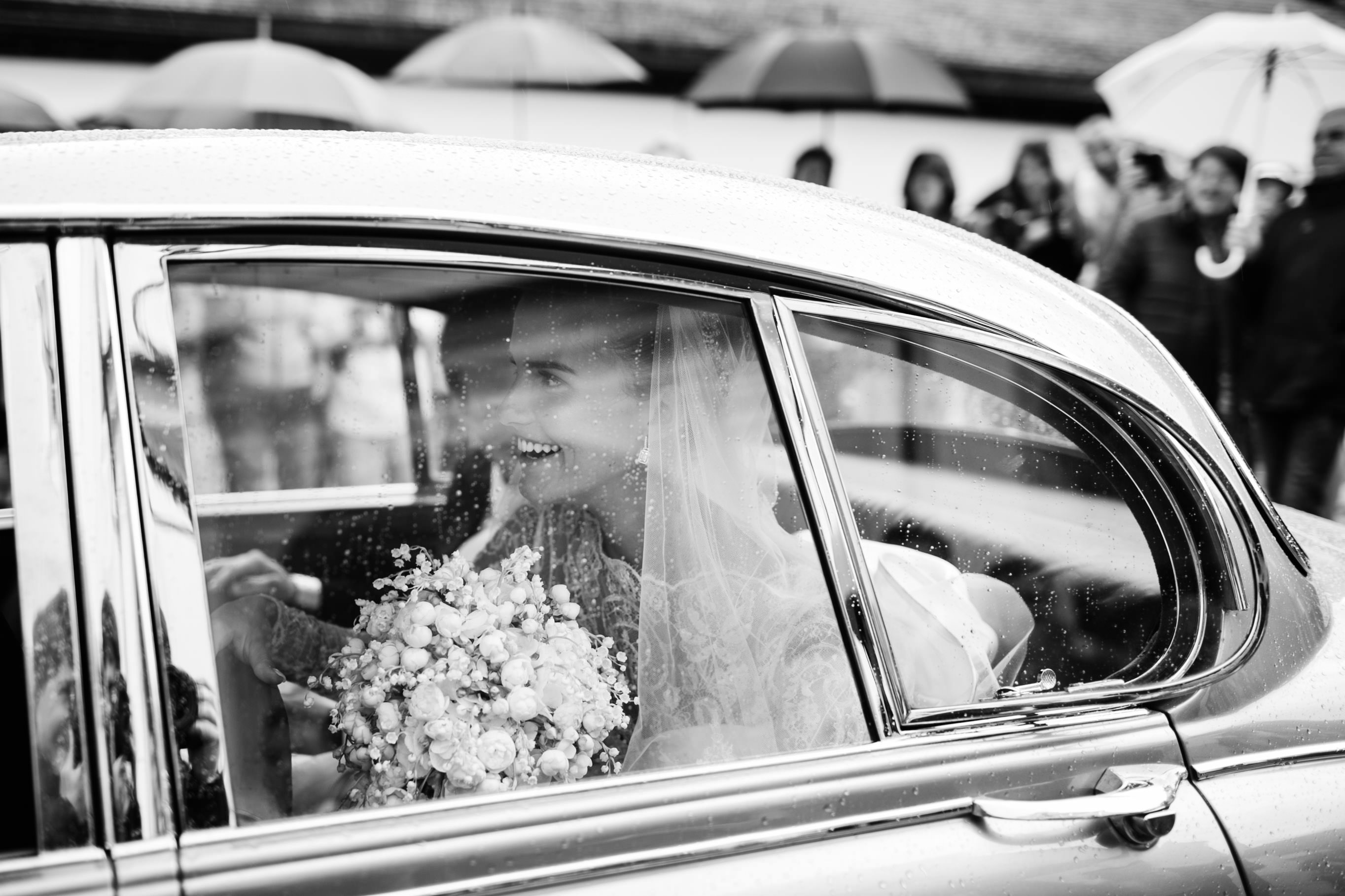 newlyweds leaving church andreas seppi