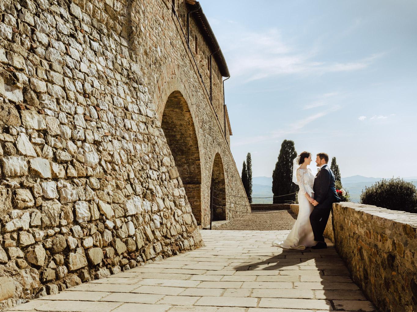 portraits wedding castello di montalcino tuscany