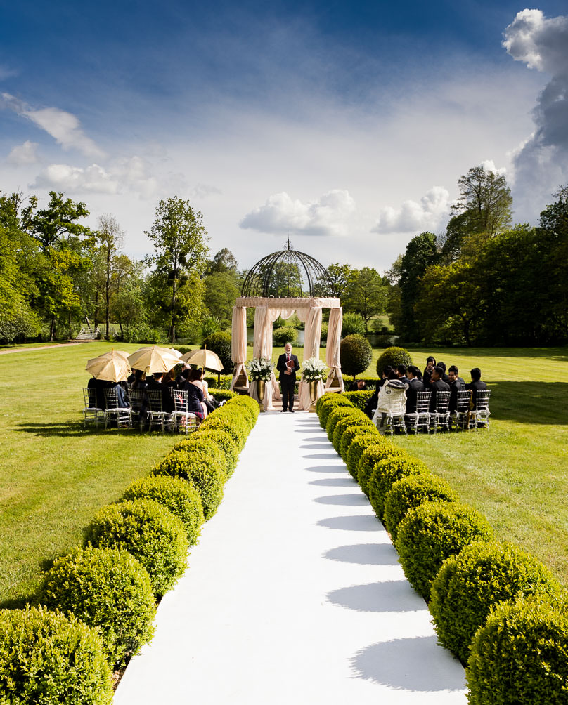 wedding ceremony same sex chateau