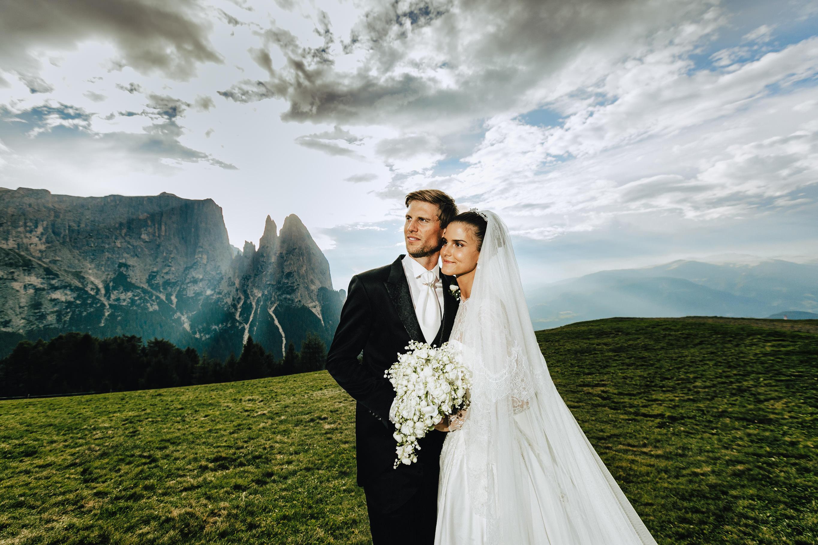 wedding italian alps couple dolomites