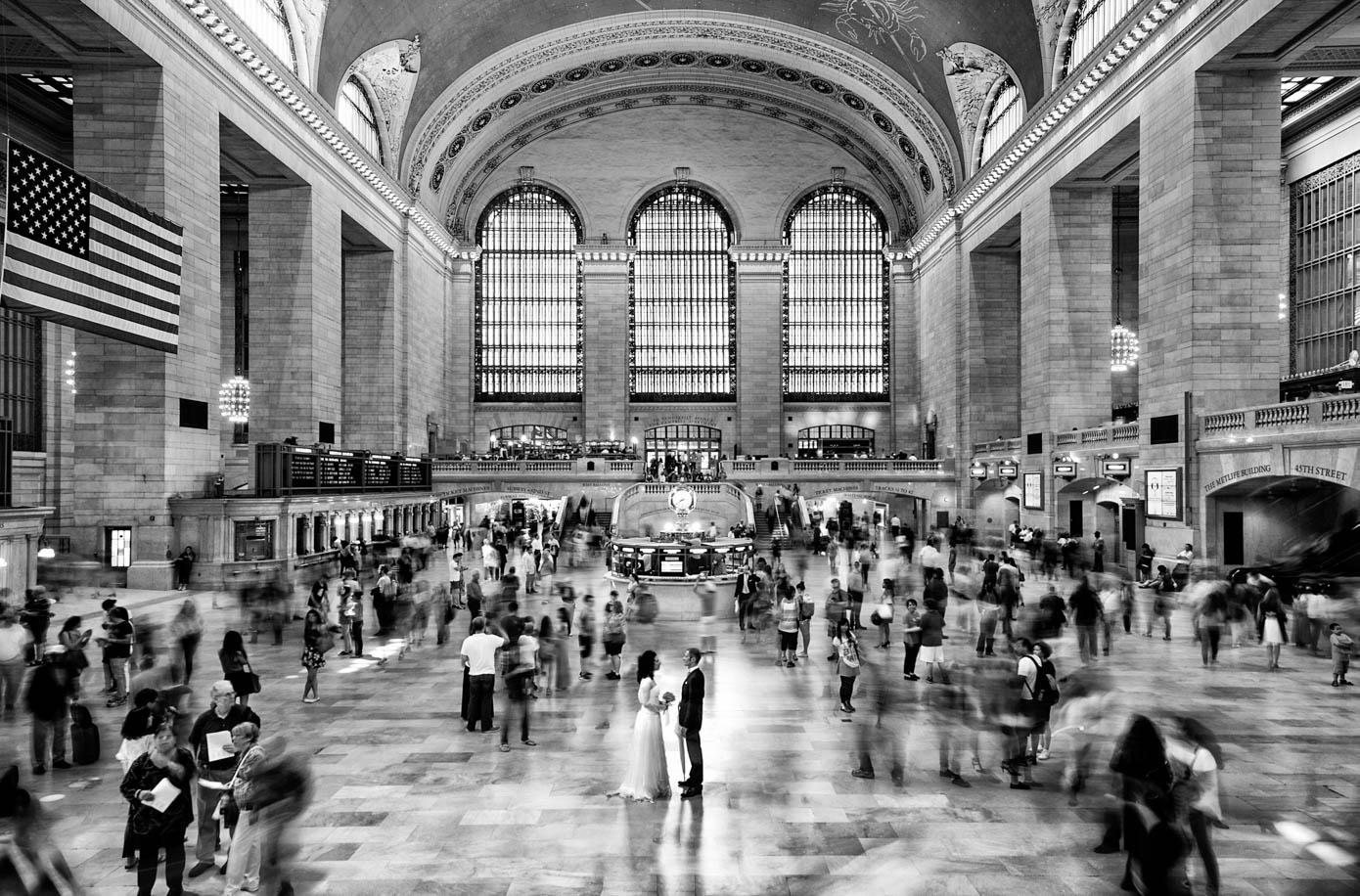 Wedding Central Station New York