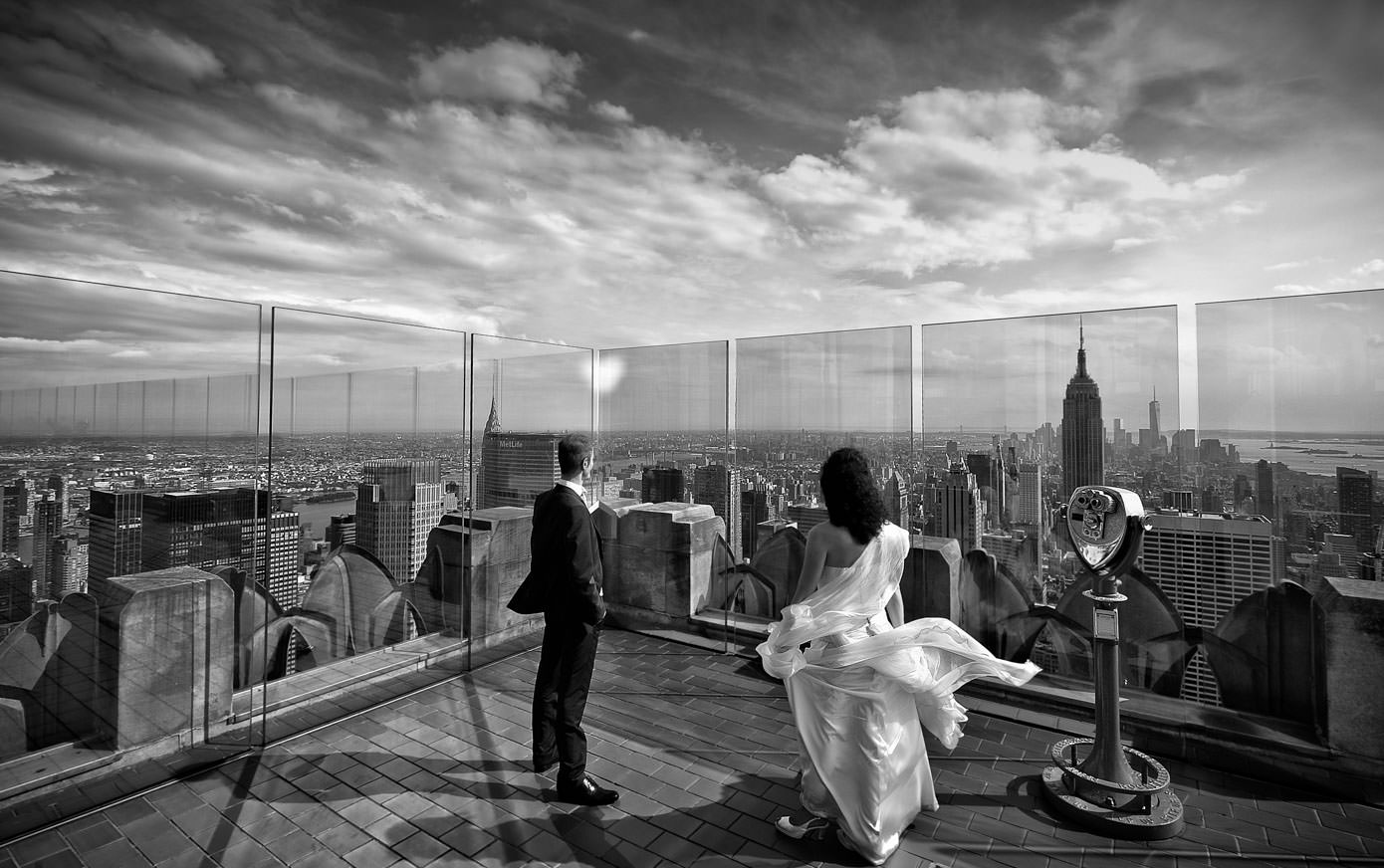 Wedding on Top of the Rock