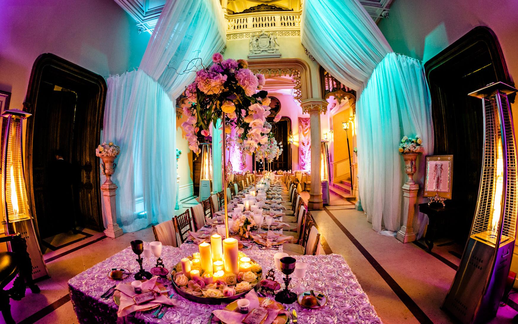 chateau challain table setting