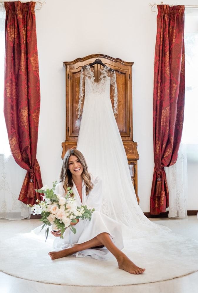 cristina chiabotto wedding dress