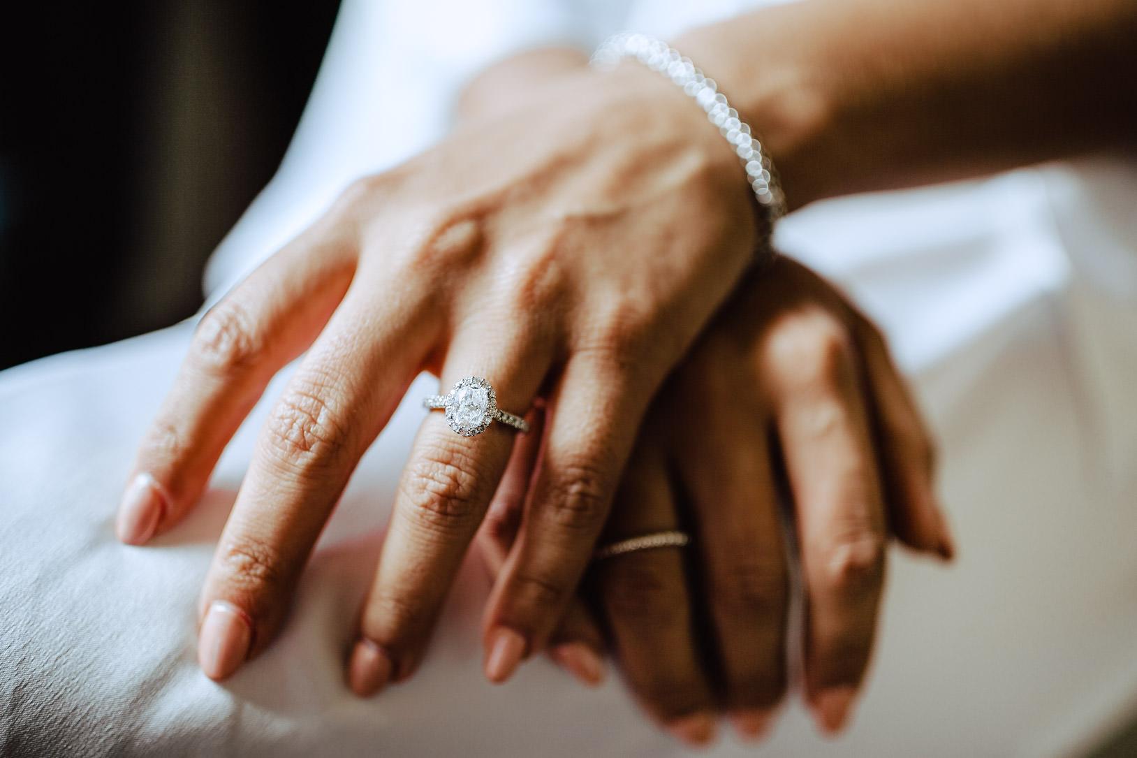 Harry Kotlar Style engagement ring chateau challain wedding
