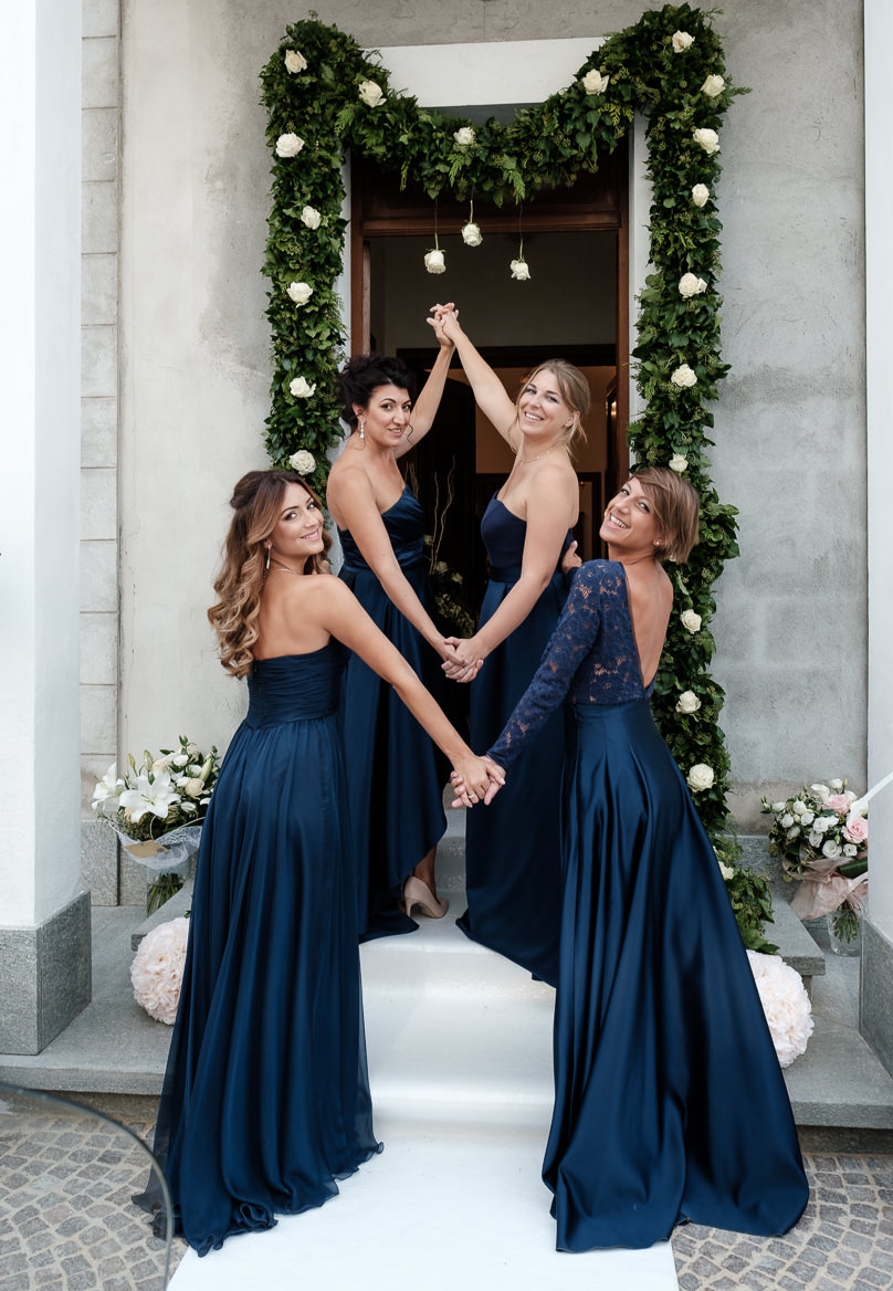 bridesmaids wedding chiabotto