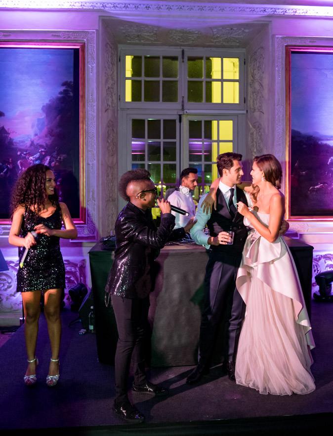 cristina chiabotto gold singers wedding