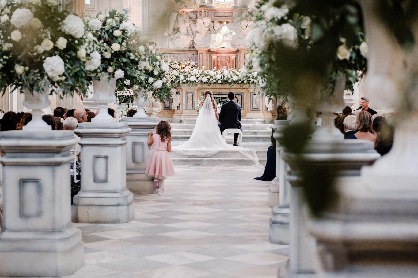 cristina chiabotto wedding ceremony