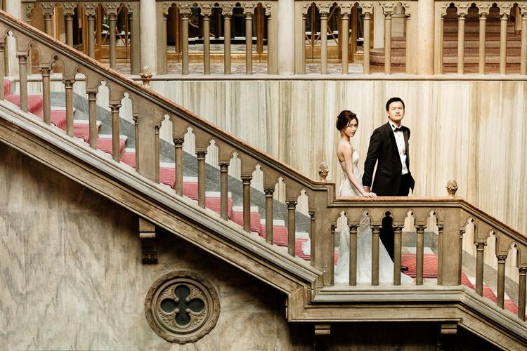 hotel danieli coupe pre-wedding