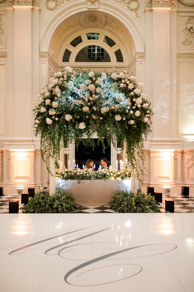 main table setting galleria di diana venaria cristina chiabotto