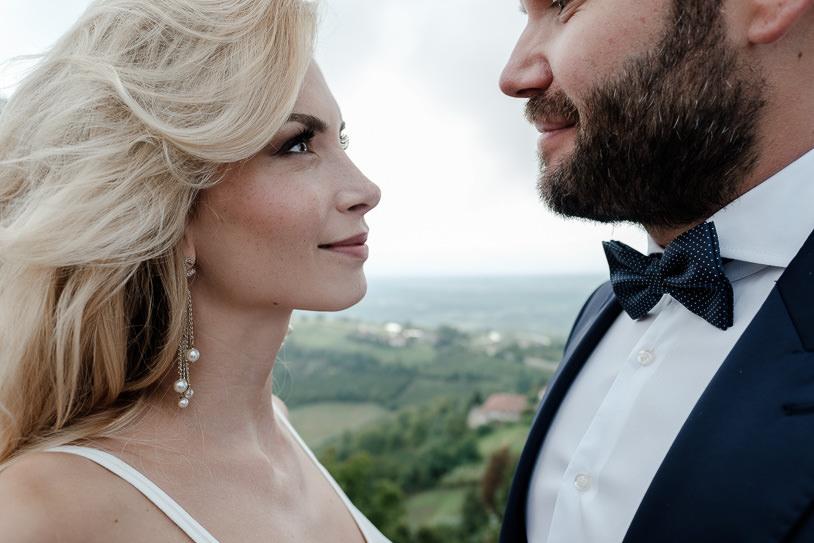 prewedding couple portrait