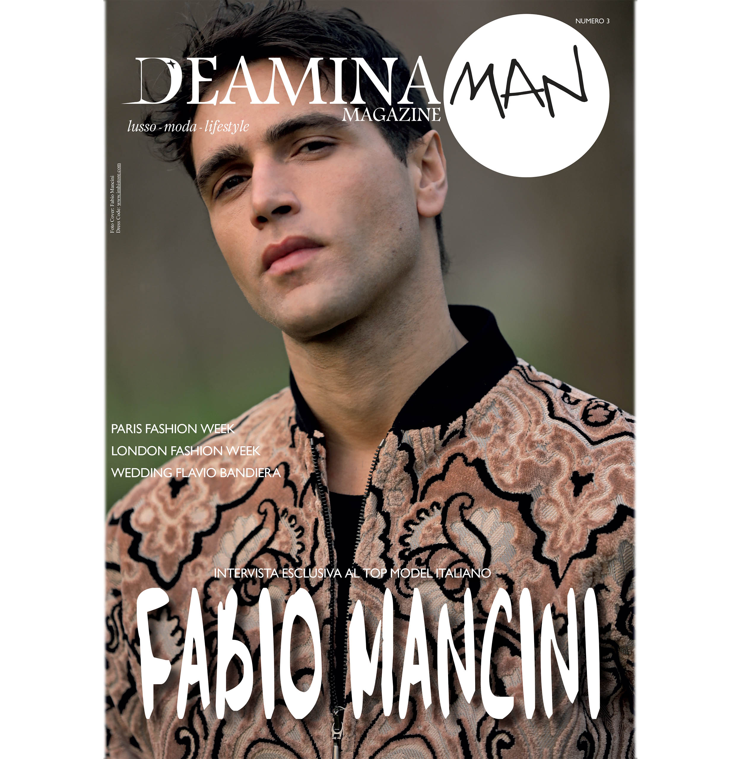 Deamina Magazine Cover